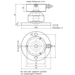 KR80-Pendelfuß xt