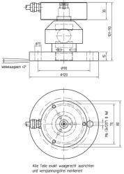 KR80-Pendelfuß hoehenverstellbar xt