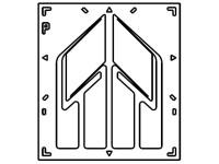 T-Rosette -45-45