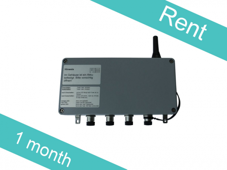 Rental1-GSV-4GPRS M12/125Hz