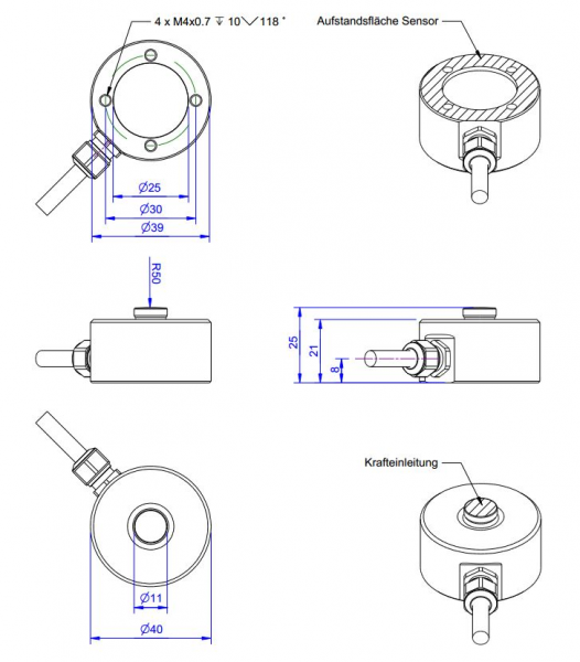 km40 load cell