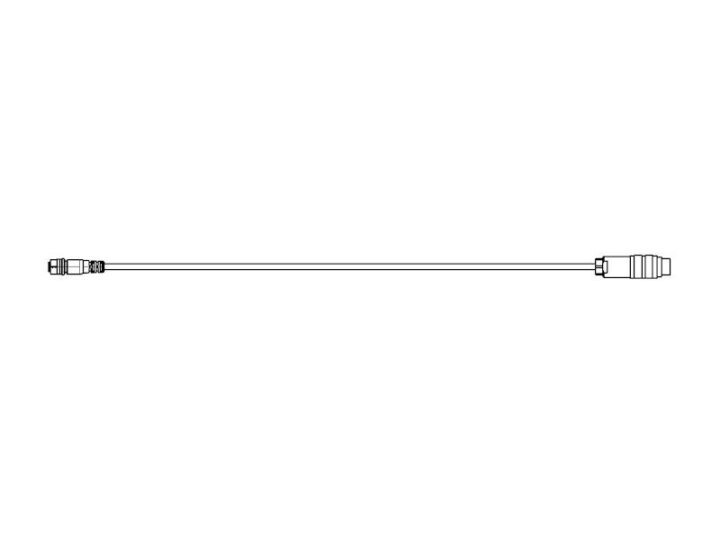 Anschlusskabel MP11/f-M16/24p/m gerade