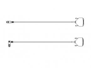 Anschlusskabel MP11/f-D-Sub44HD/m