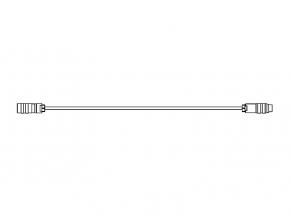 Extension cable M16/24p/f/0°-M16/24p/m