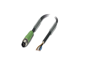 Connector 4p/m/M8/3,0